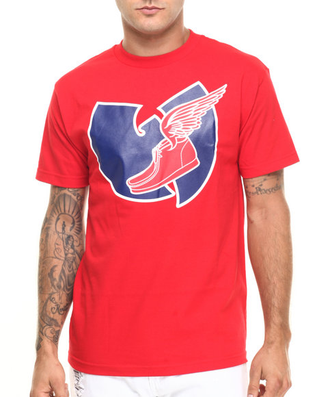 Wu-Tang Limited - Men Red W Wing Tee