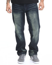 Basic Essentials - Structured Flap - Pocket Denim Jeans