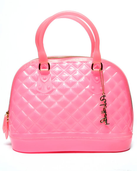 Pink Cosmo Women Pink Haley Jelly Candy Satchel Pink