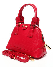 "Women - Pink Haley ""Sally"" Patent Mini Satchel"