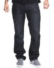 Basic Essentials - Mercerized Belted Denim Jeans