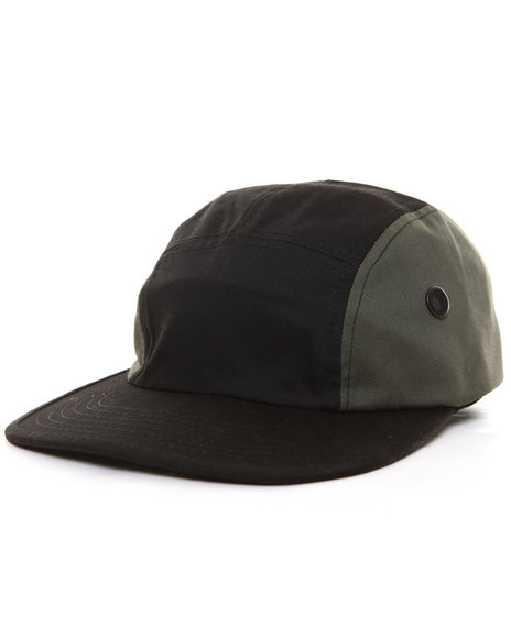 Ur-ID 224415 Rothco - Men Black / Smoke Rothco 5 Panel Military Street Cap Olive Drab