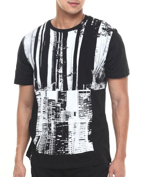 Lrg Men Jungle City T-Shirt Black Large