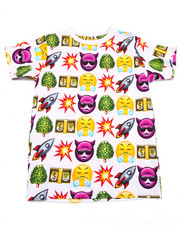 Sizes 8-20 - Big Kids - EMOJI TEE (8-20)