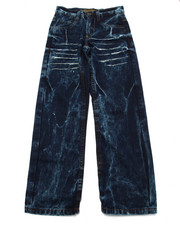 Sizes 8-20 - Big Kids - CRINKLE WASH JEANS (8-20)