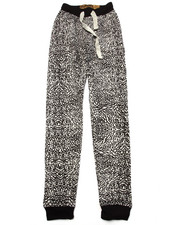 Sizes 8-20 - Big Kids - ELEPHANT PRINT JOGGERS (8-20)