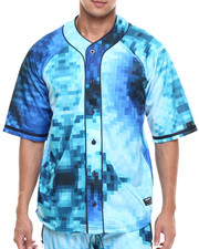 Button-downs - TRUK Digi Tye Dye Baseball Jersey