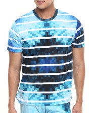 Men - TRUK Digi Tye Dye Stripe T-Shirt