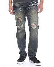 Jeans - Rip - Off Denim Jeans