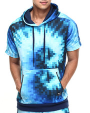 Men - TRUK Digi Tye Dye S/S Hoody