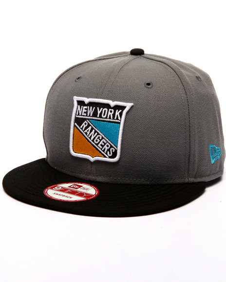 Ur-ID 224267 New Era - Men Grey New York Rangers Patriotic Edition 950 Snapback Hat