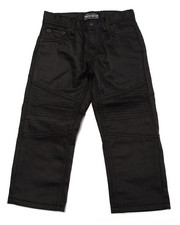 Bottoms - COATED MOTO JEANS (4-7)