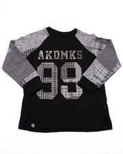 Boys - L/S PLAID RAGLAN (4-7)