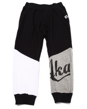 Bottoms - CUT & SEW DROP CROTCH JOGGERS (4-7)
