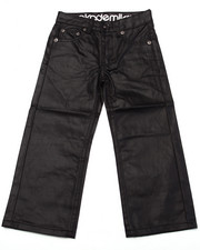 Bottoms - COATED DENIM JEANS (4-7)
