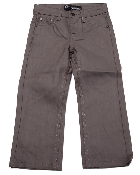 Akademiks - Boys Grey Coated Denim Jeans (4-7)