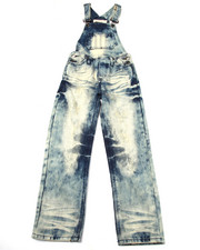 Sizes 8-20 - Big Kids - CLOUD WASH OVERALLS (8-20)