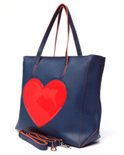 Women - Pink Haley Pop Heart Tote