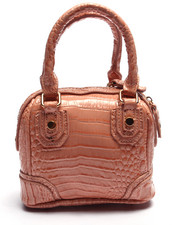 "Women - Pink Haley ""Baily Patent"" Mini Satchel"