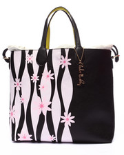 Women - Pink Haley Emma Flower Reversible Tote