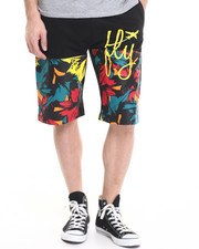 Men - Neon Leaf Short