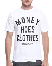 Shirts - MONEY HOES CLOTHES TEE