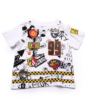 Boys - SPLATTER & PATCH TEE (INFANT)