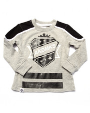 Boys - L/S CUT & SEW HOCKEY TEE (2T-4T)