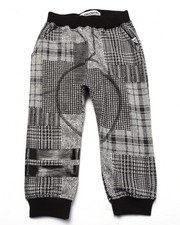 Bottoms - PLAID JOGGERS (2T-4T)