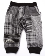 Bottoms - PLAID JOGGERS (INFANT)