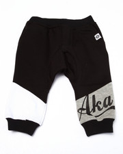 Bottoms - CUT & SEW DROP CROTCH JOGGERS (INFANT)