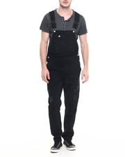 Men - Rip And Repair Denim Overalls