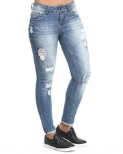 Bottoms - Arya Patchwork Jean