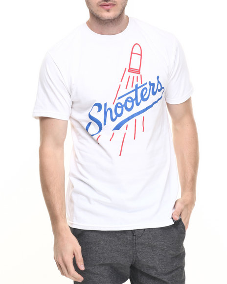 Ur-ID 224599 DNINE Reserve - Men White Major League Shooters Tee