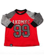 Boys - L/S PLAID RAGLAN (INFANT)