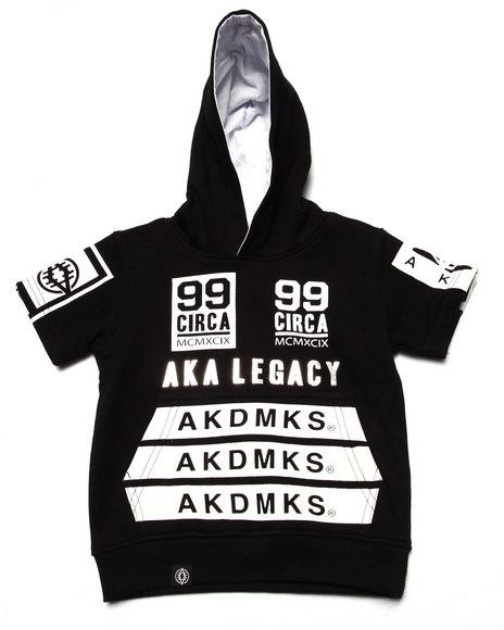 Akademiks - Boys Black Legacy Pullover Hoody (Infant)