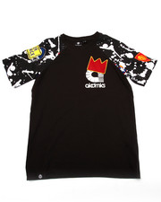 T-Shirts - SPLATTER RAGLAN TEE (8-20)