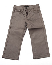 Bottoms - COATED DENIM JEANS (2T-4T)