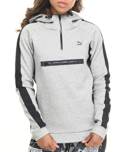 Puma Grey Hoodies