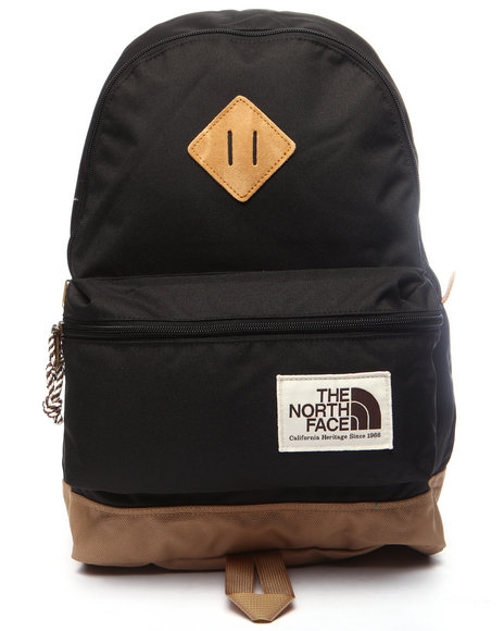 The North Face - Boys Black Youth Mini Berkeley Backbpack