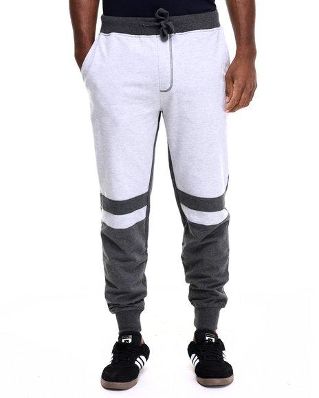 Akademiks Men Dragon Cut & Sewn Jogger Sweatpants Grey X-Large