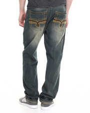 Basic Essentials - Streaky Vintage - Wash Denim Jeans