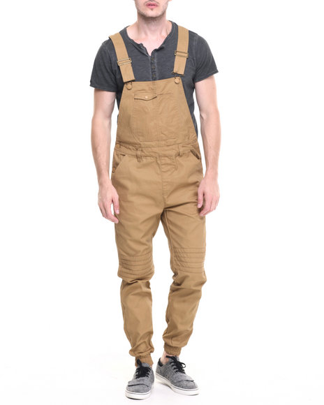 Buyers Picks - Men Khaki Waxed Twill Overalls