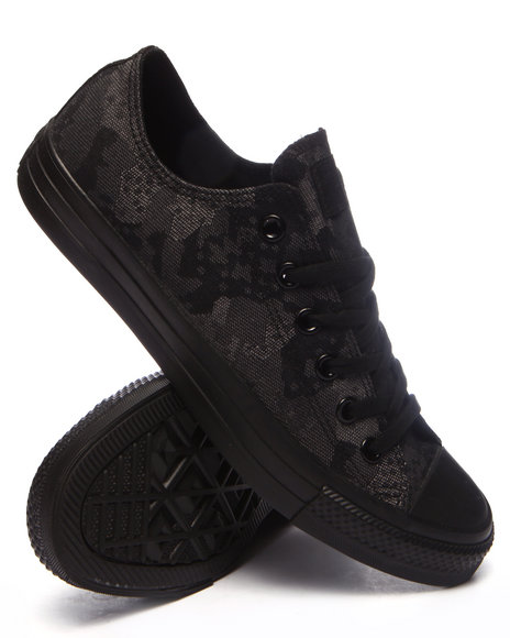 Converse - Men Black Chuck Taylor All Star Jacquard