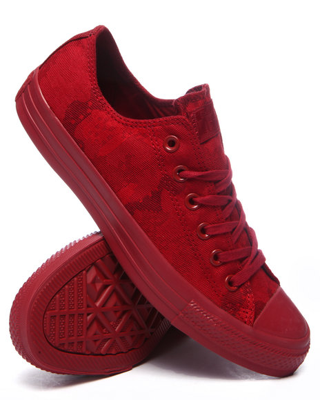 Converse - Men Maroon Chuck Taylor All Star Jacquard