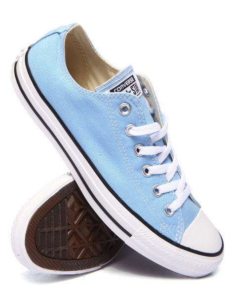 Converse Light Blue Sneakers