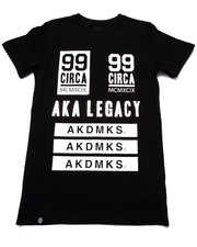 T-Shirts - ELONGATED LEGACY TEE (8-20)
