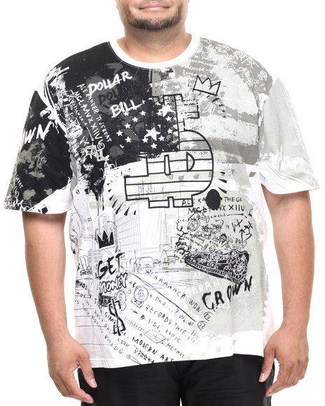 Akademiks - Men White Neptune Graphic S/S Tee (B&T)