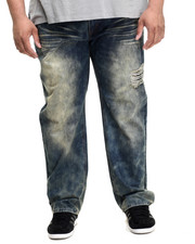 Men - Forest Wash Denim Pants (B&T)