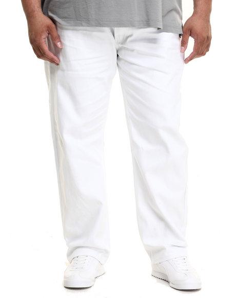 Ur-ID 224215 Akademiks - Men White Culture Twill Pants (B&T)